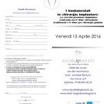 i fondamentali 15-16 aprile